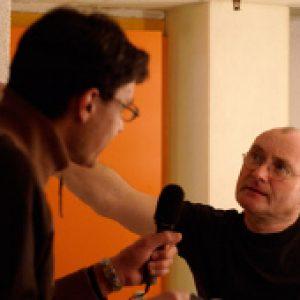 Mit Phil Collins in Genf.