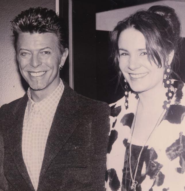 David Bowie und Viviane Laissue